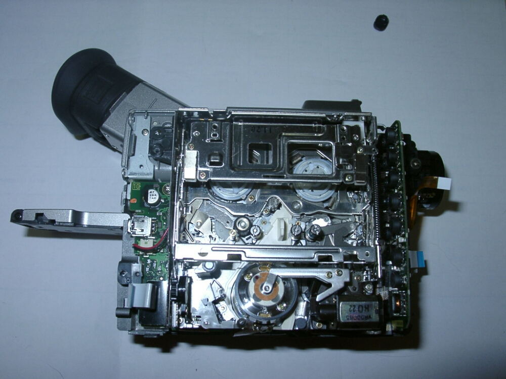 Panasonic  nv dj100 video camera teardown