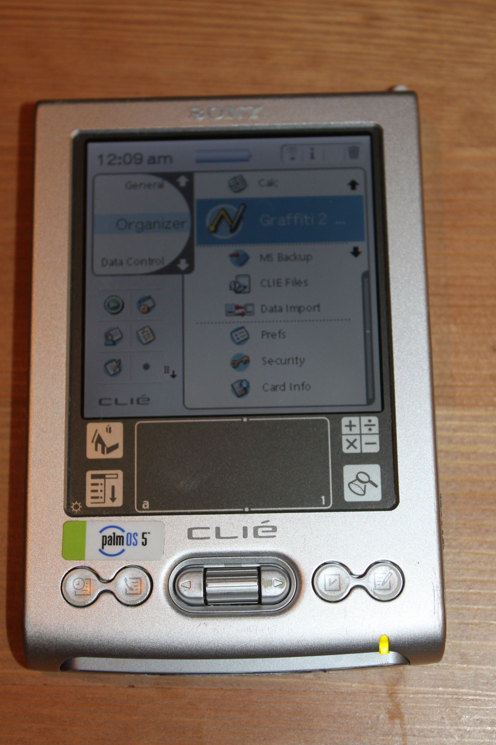 Clie Sony pocket pc