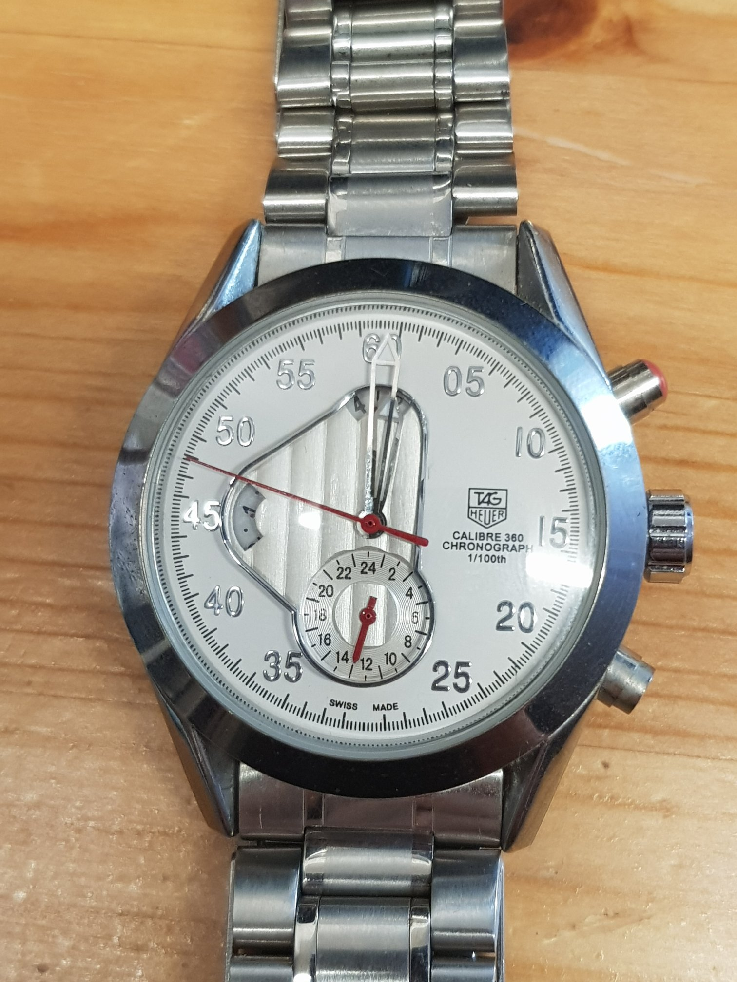 Tagheuer Carrera 2005 dismantled (beyond repair)