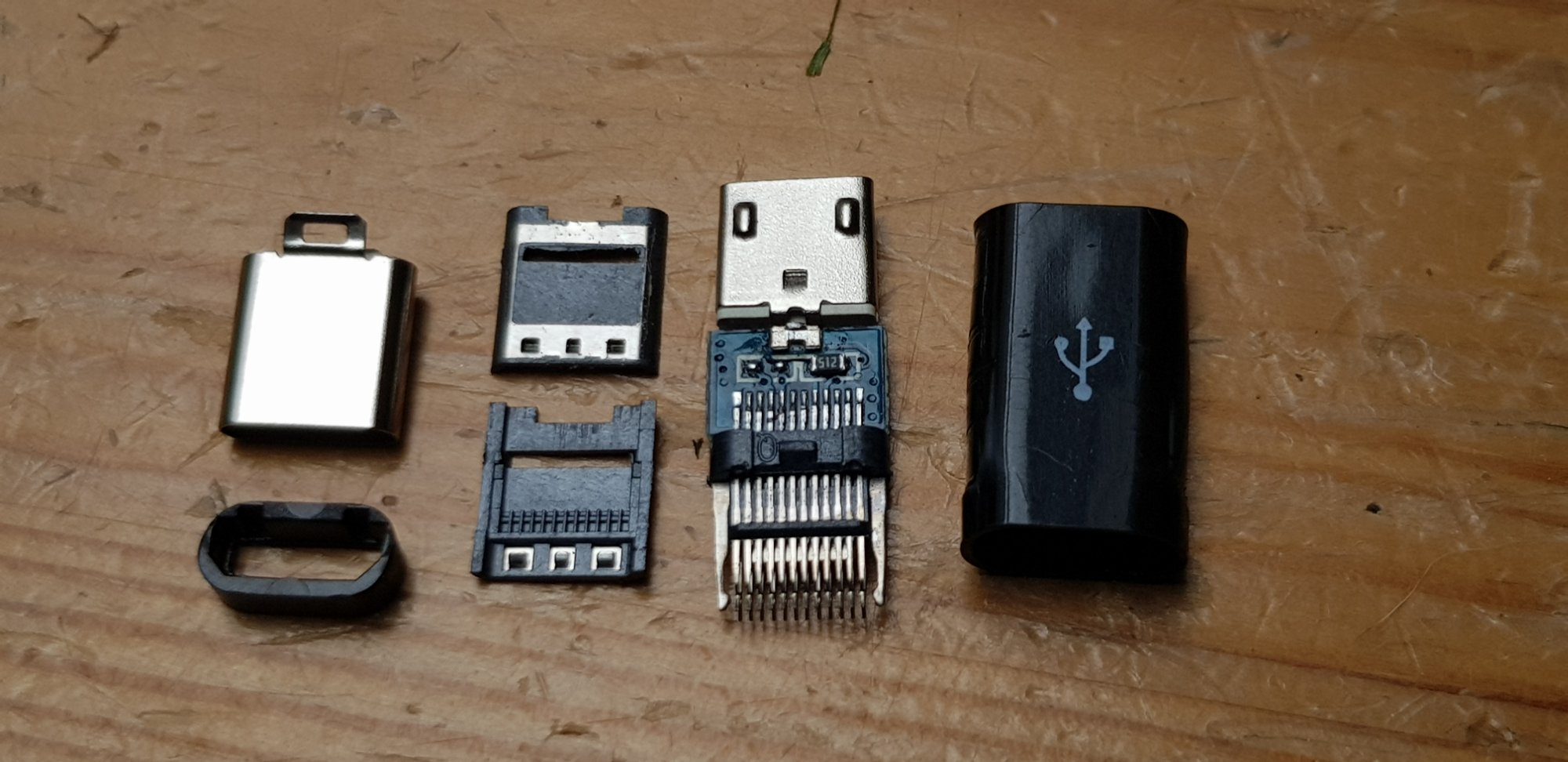 Micro usb to usb C converter