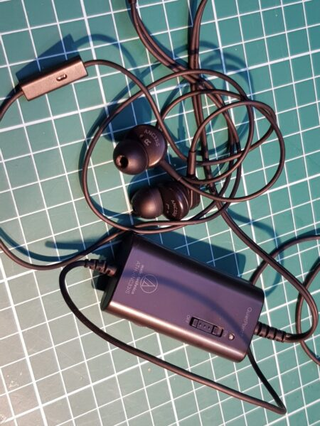 Audio technica noise cancellation ATH-ANC33is, ATH-ANC32is