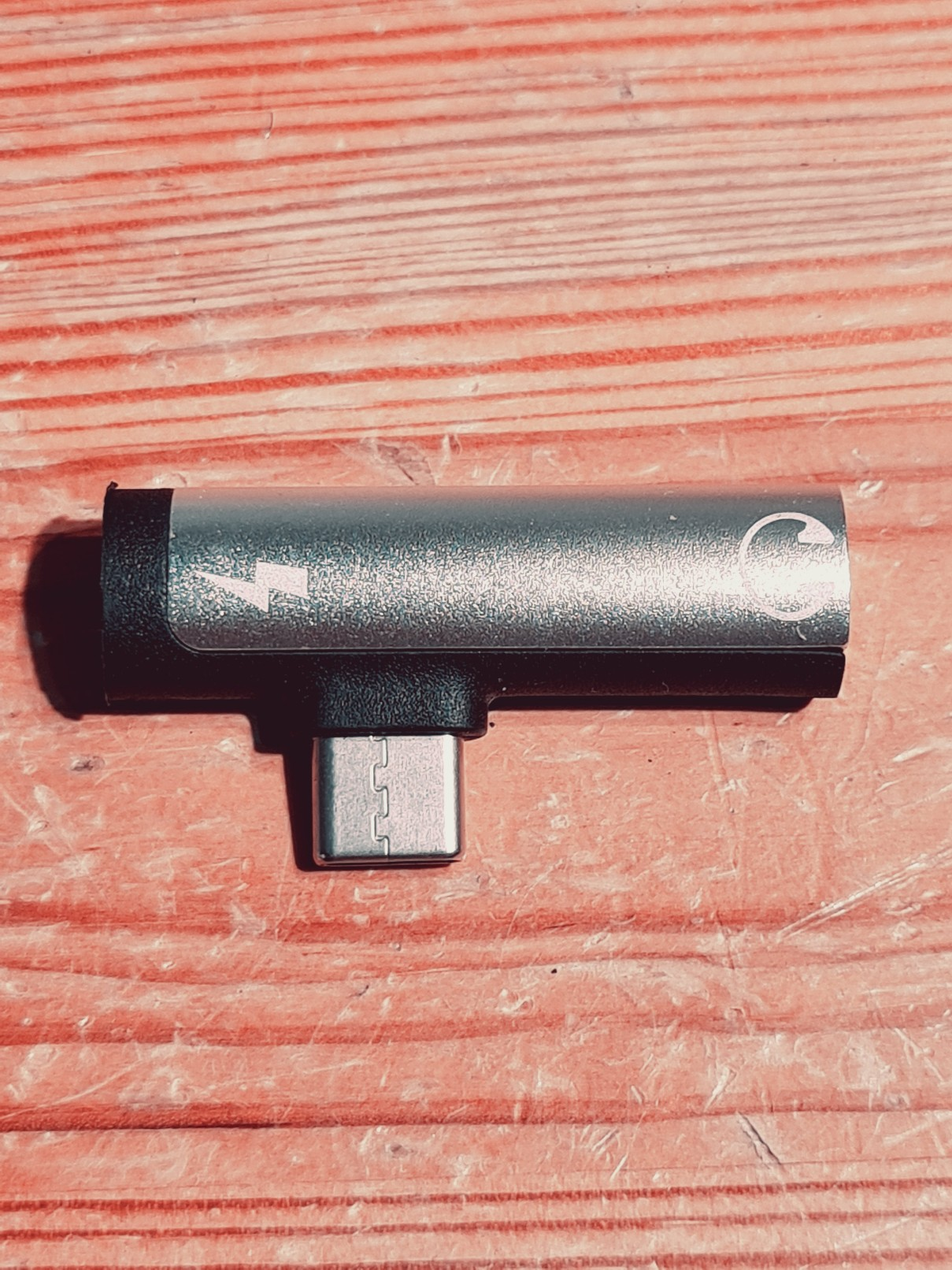 2 in 1 Audio Adapter usb C