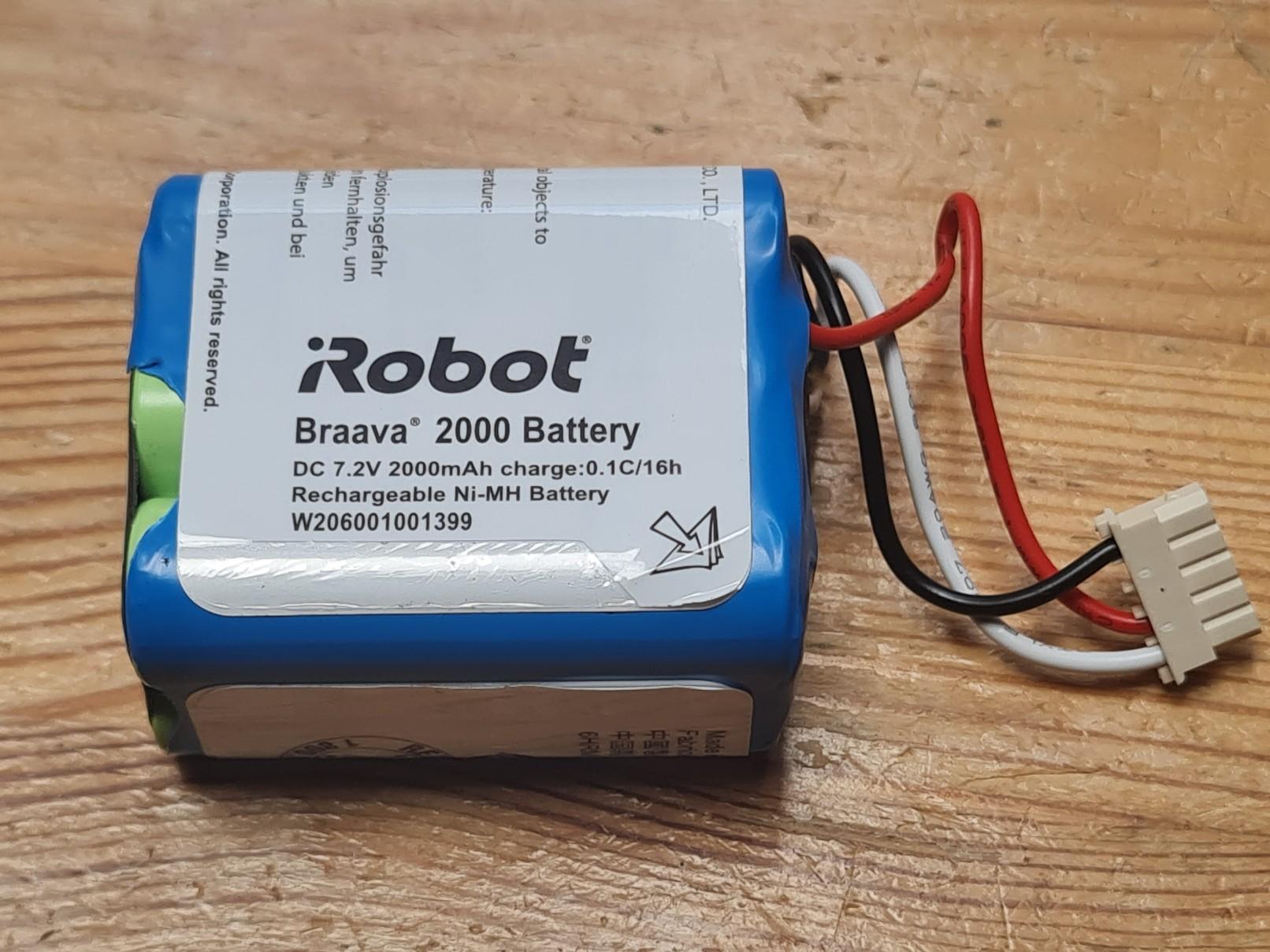 iRobot Braava battery 2000